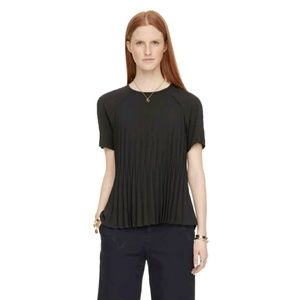 Kate Spade Pleated black top size s